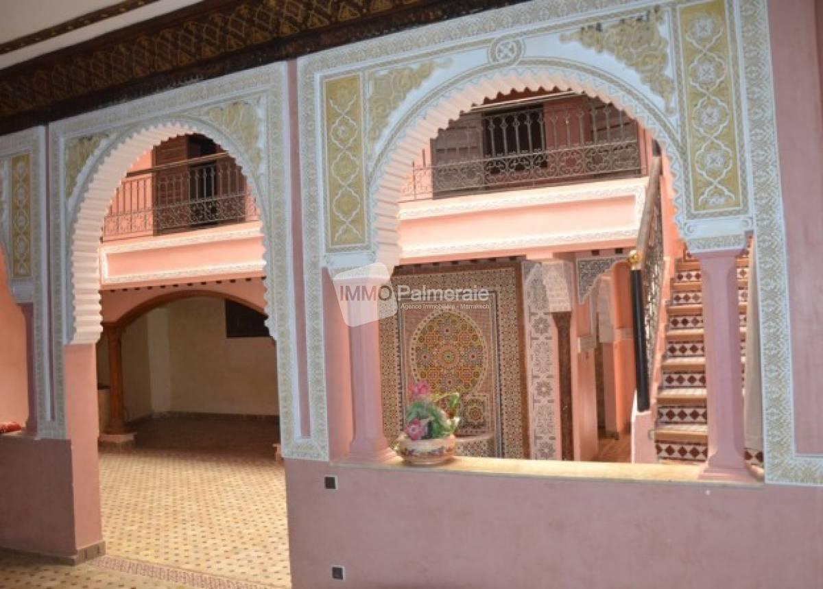 Riad 4 chambres dans une résidence
